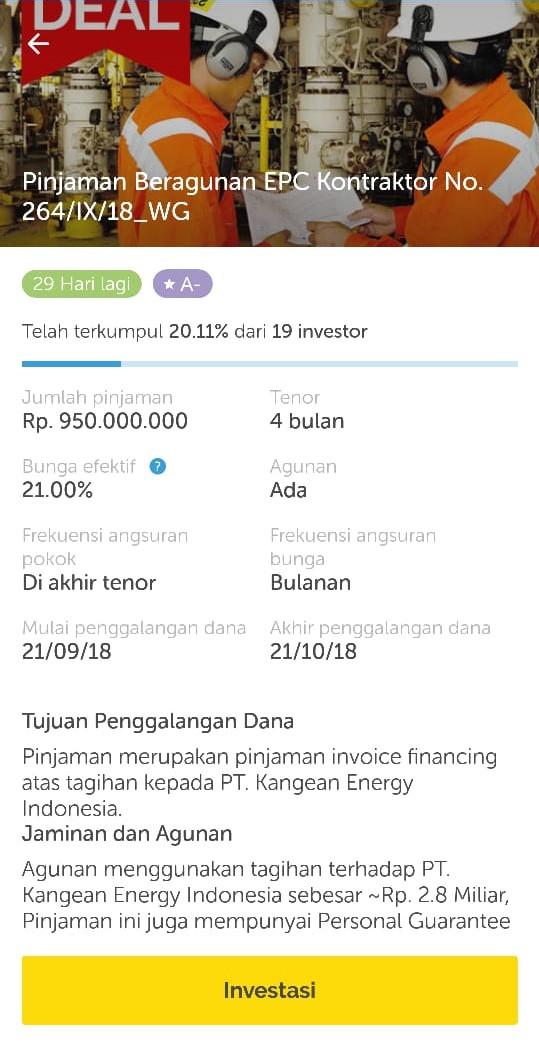 Investasi di Akseleran