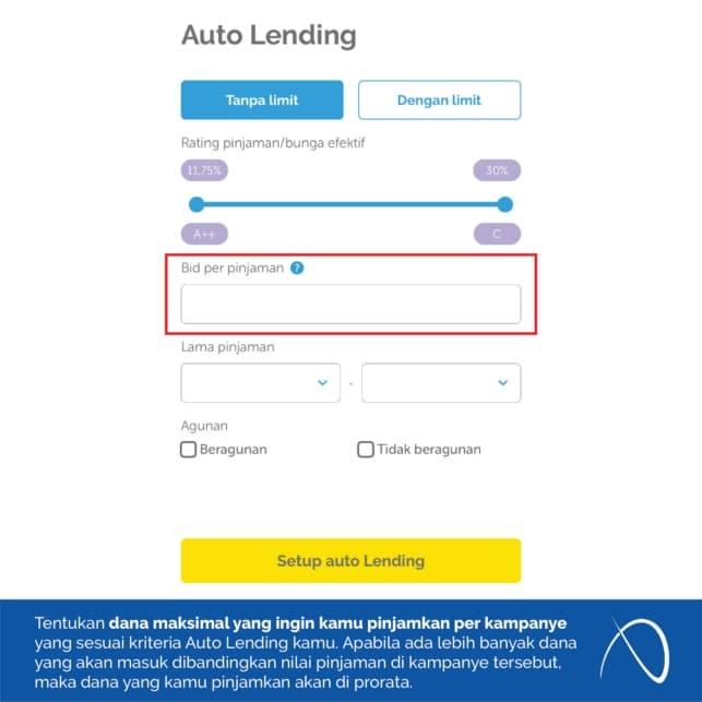 Auto Lending - Bid