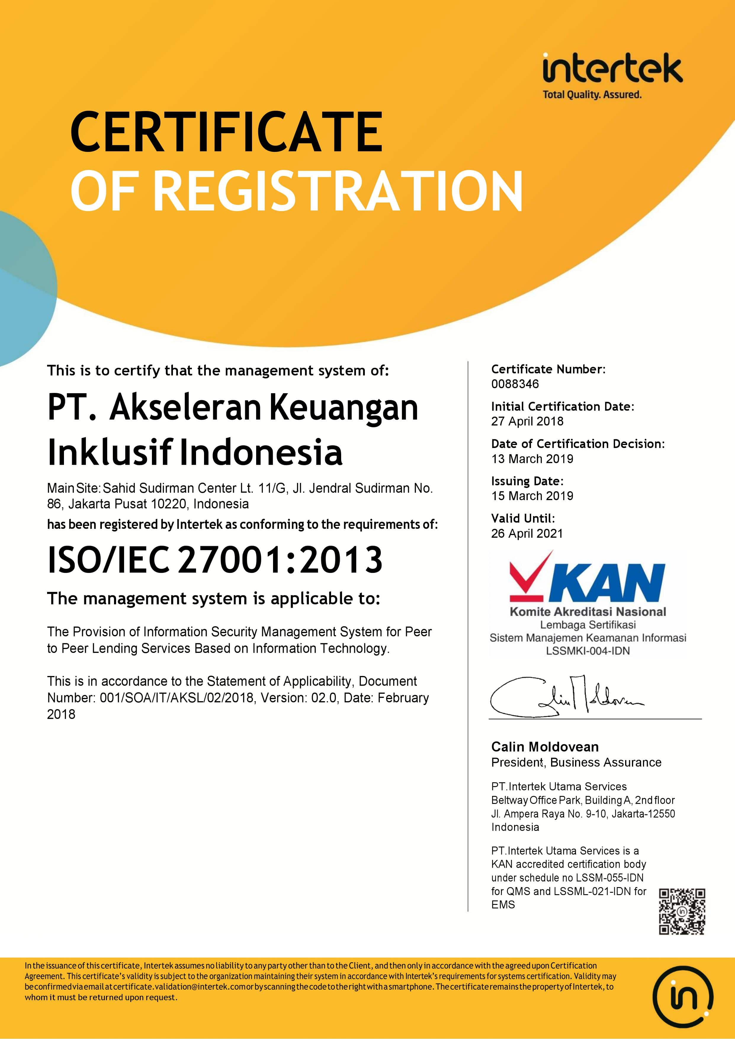 ISO 270012013