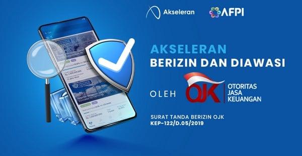 Akseleran_fintech_berizin_ojk