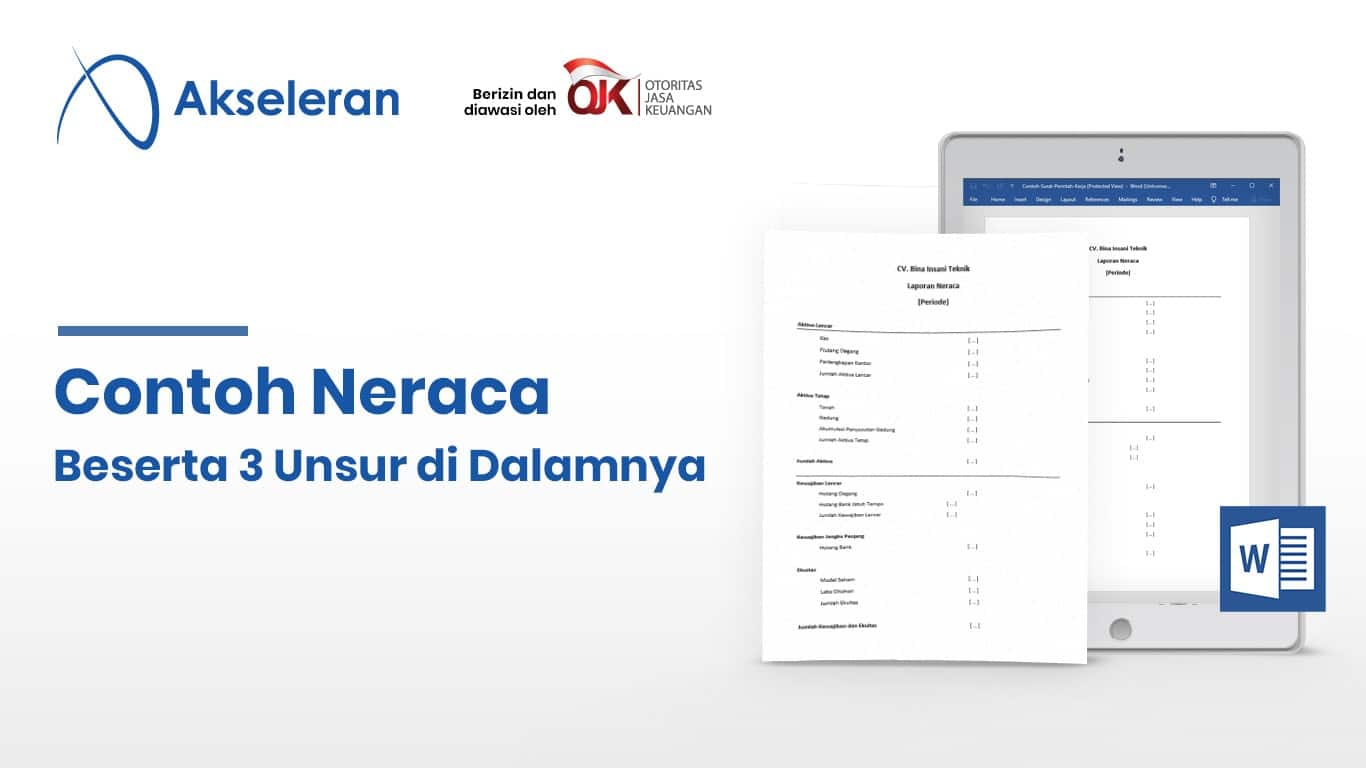Contoh Neraca