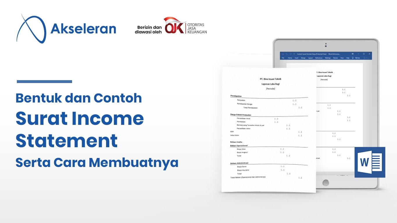 Contoh Income Statement