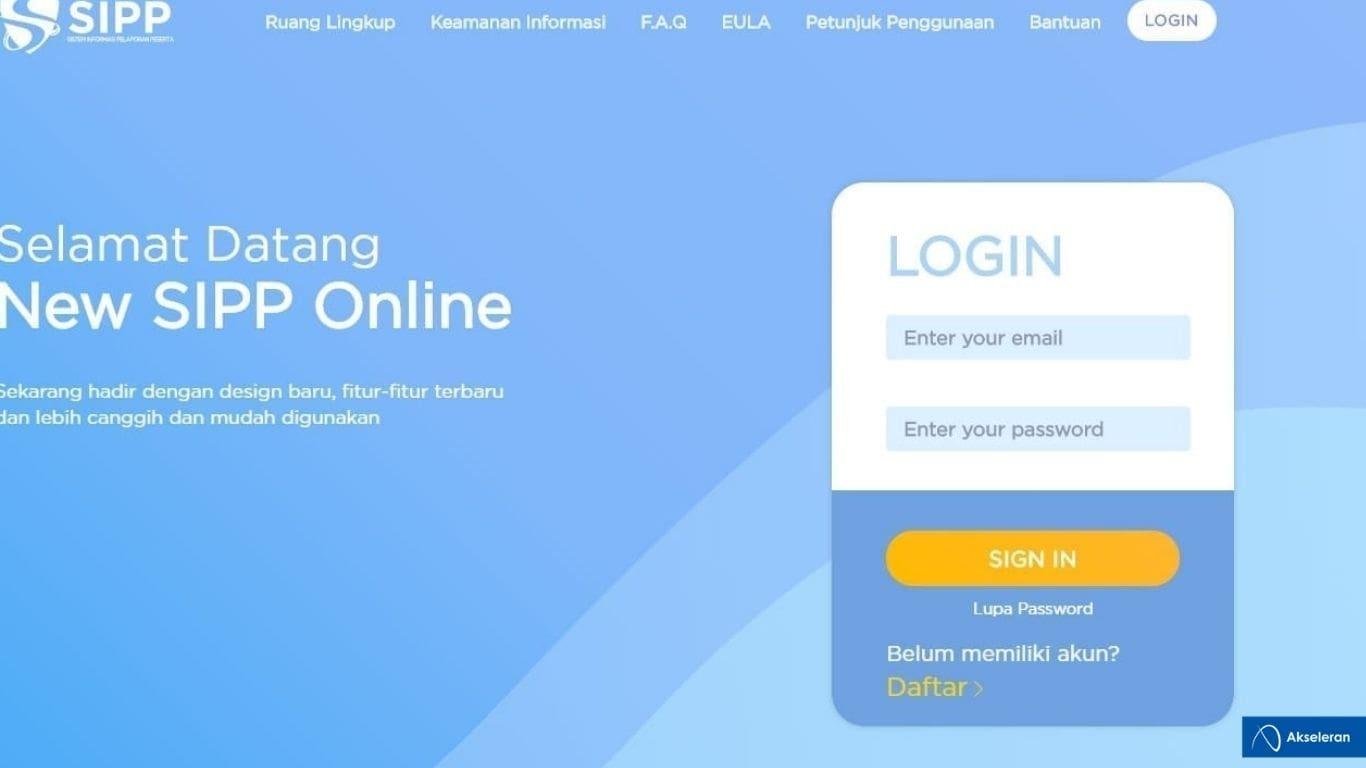 SIPP Online